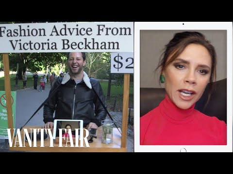 connectYoutube - Victoria Beckham Gives Strangers Fashion Advice for $2 in Central Park   Vanity Fair