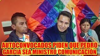 PEDRO GARCIA SE REUNE CON LOS AUTOCONVOCADOS DE LA CIUDAD DEL ALTO...