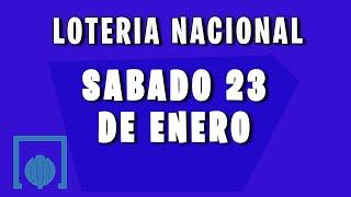 Resultado del sorteo de la  Loteria Nacional España del Sabado 23 de Enero de 2021