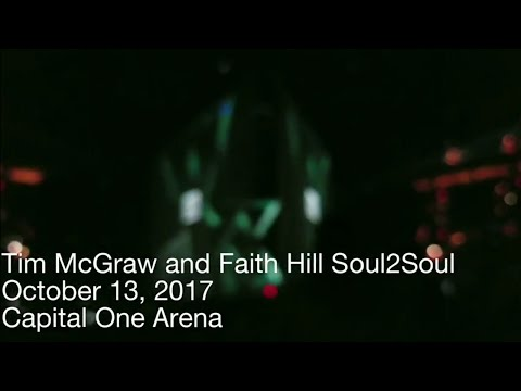 Tim McGraw and Faith Hill Soul2Soul Concert