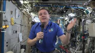 Space Station Crew Member Discusses Life in Space with Georgia Students