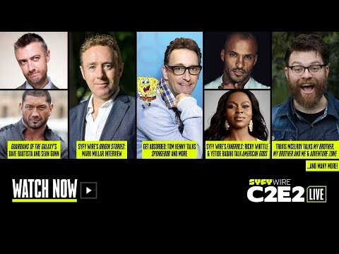 Guardians of the Galaxy, American Gods, Spongebob | C2E2 Live Stage (Day 1) | SYFY WIRE