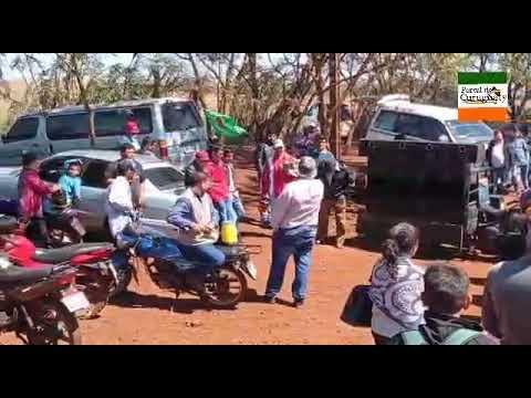 Masiva movilización contra la modificación de estatuto agrario en Paraguay