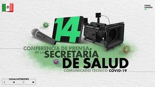 Conferencia de prensa. Informe diario sobre coronavirus COVID-19 en México. 04/07/2020