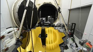 Webb Telescope's Houston Highlights Time Lapse