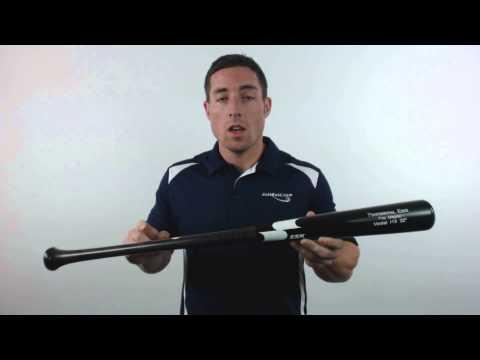 SSK Professional Edge Pro Maple Wood Baseball Bat: I13 Model Black/Smoke/White