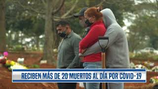 Coronavirus: Funerarias revelan alarmante situación, al día reciben más de 20 fallecidos
