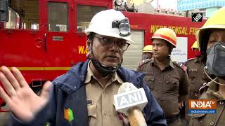 Kolkata Fire: Nobody is trapped inside building or injured, informs Fire Officer - INDIATV