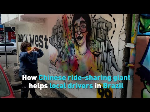 How Chinese ride-sharing giant helps local drivers in Brazil