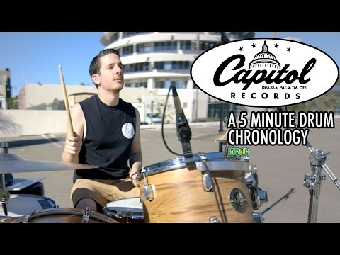 connectYoutube - 75 Years of Capitol Records: A 5 Minute Drum Chronology - Kye Smith [4K]