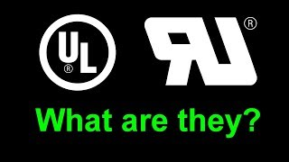 EEVblog #1082 - What is the UL logo on products?