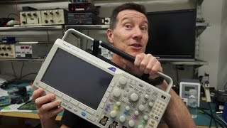 Drag An Oscilloscope Through 6km of Mud?