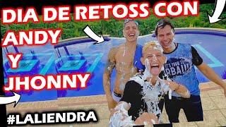 EXCLUSIVO: LA LIENDRA RETÒ A ANDY RIVERA Y JOHNNY RIVERA EN UN JUEGO DIVERTIDO