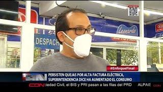 Persisten quejas por alta factura eléctrica, Superintendencia dice ha aumentado el consumo