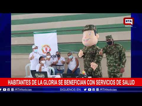Habitantes de La Gloria se benefician con servicios de salud