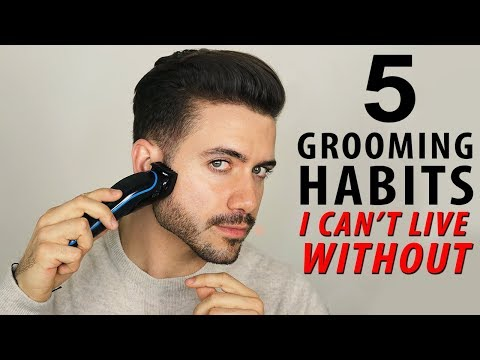 5 Grooming Habits I Can't Live Without | Men's Grooming Routine | Alex Costa