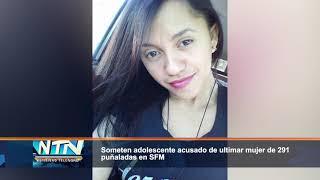 Someten adolescente acusado de ultimar mujer de 291 puñaladas en SFM