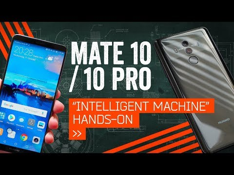 Huawei Mate 10/Pro: Hands-On With