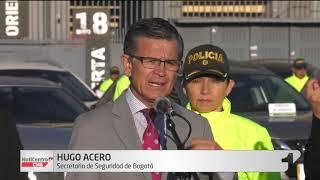 Más de 2.500 delitos se han cometido en lo corrido del año en Bogotá