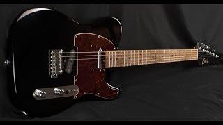 Suhr Classic T Black Electric Guitar 19981 Demo