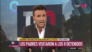 Guarino y Milanesi no hablaron ante la fiscal