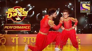 """Rishikaysh और Akash के """"देवा श्री गणेशा"""" के Performance से सब झूम उठे   Super Dancer Chapter 2 - SETINDIA"""