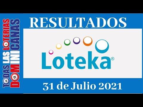 Lotería Loteka  Sábado 31 de Julio 2021 #todaslasloteriasdominicanas