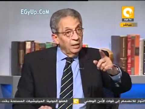الجزء الثاني من لقاء عمرو موسي في اخر كلام 16 2 2012