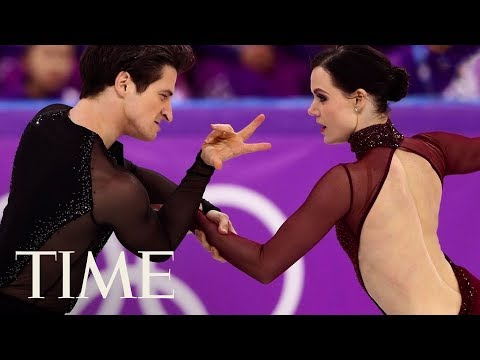 connectYoutube - Tessa Virtue And Scott Moir's Ice Dancing Gold Medal Is An Internet Sensation | TIME
