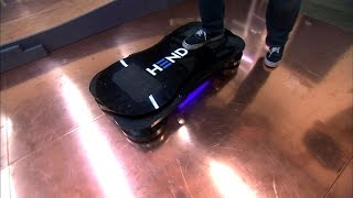 Taking a spin on a real-life hoverboard