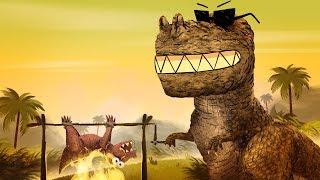 StoryBots | Dinosaur Songs: T-Rex, Velociraptor & more | Learn with music for kids | Netflix Jr