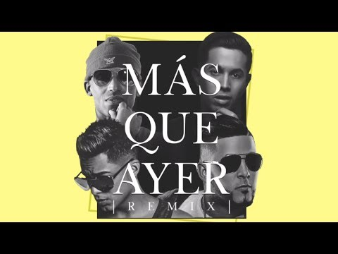 Arcangel y De La Ghetto - Más Que Ayer ft. RKM y Ken-Y [Lyric Video]