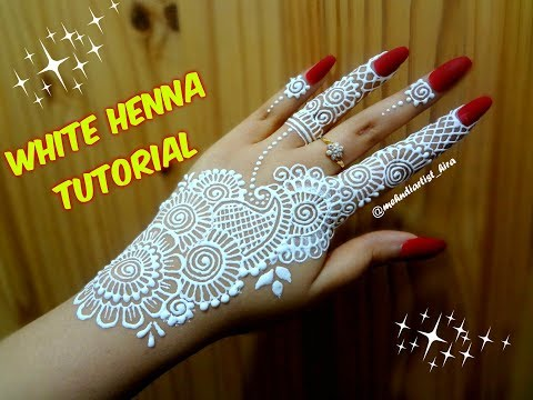 Download youtube mp3 latest beautiful easy khaleeji arabic new download youtube to mp3 how to apply easy simple stripbail white henna mehndi designs on hands for eid weddings tutorial thecheapjerseys Gallery