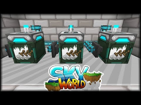 connectYoutube - Automatisch mit dem Detektoren | GARDENGLOCHES erlaubt! | Minecraft SkyWorld #34 | Minecraft Modpack