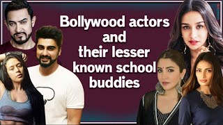 From Aamir Khan to Anushka Sen I Did you these Bollywood celebrities have been school buddies? I - TELLYCHAKKAR