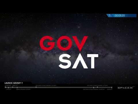 connectYoutube - GovSat-1 Launch