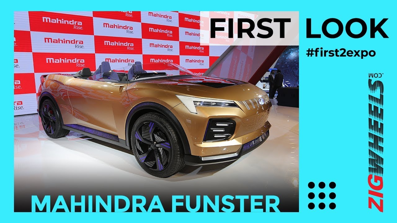 Mahindra Funster Concept First Look Review | Hints At 2020 XUV500 | Auto Expo 2020 | ZigWheels.com