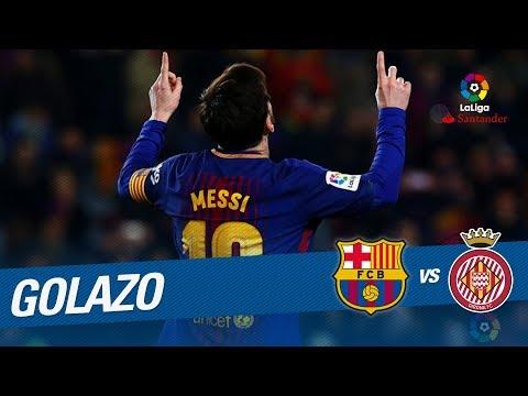 Golazo de Messi (3-1) FC Barcelona vs Girona FC