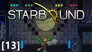 Starbound - Part 13 - Asra Nox Boss Battle, The Grand Pagoda Library