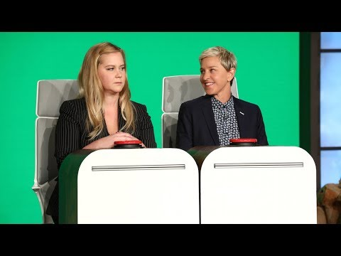 connectYoutube - Amy Schumer Answers Ellen's Burning Questions