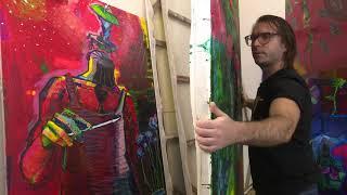 Nueva propuesta de Lancelot Alonso y su pintura en Cuba