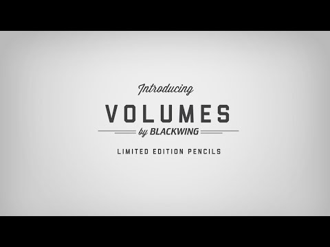 Blackwing Volumes - Limited Edition Pencils