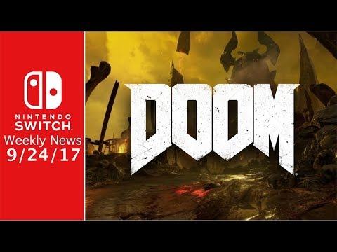 NEW Info on Doom for Switch! and Sonic Forces Free DLC! - SWN 9/24/17