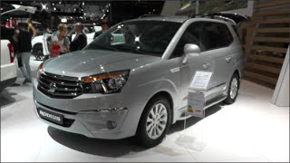 SsangYong Rodius 2015 In detail review walkaround Interior Exterior