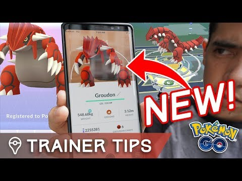 connectYoutube - GROUDON RAID GUIDE!! PERFECT IVs, COUNTERS, BEST MOVES - NEW GEN 3 LEGENDARY in POKÉMON GO