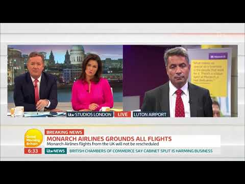 connectYoutube - Administrator Offers an Update On Monarch Airlines | Good Morning Britain