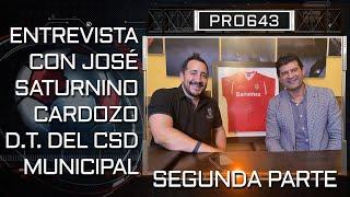 04 | BANRURAL | ENTREVISTA CON JOSE CARDOZO D.T. DE MUNICIPAL SEGUNDA PARTE.