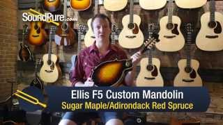 Ellis F5 Custom Mandolin w/ Andy Wood - Quick n' Dirty