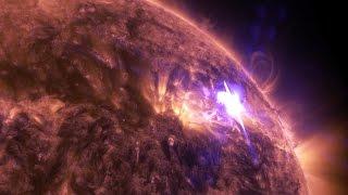 NASA's 4K View of April 17 Solar Flare