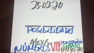 NÚMEROS PARA HOY 25 DE FEBRERO DEL AÑO 2020 - PARA ROMPER BANCAS.